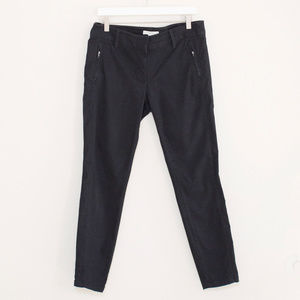LOFT Black Straight Leg Pants 8